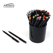 Hot Sale Black Tube Packed Crystal Pen