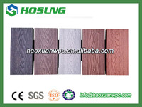 2016 hot sale waterproof hollow WPC outdoor decking floor
