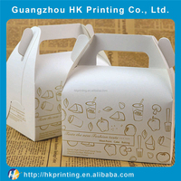 China supply delicate cardboard birthday cake box packaging,paper cake box