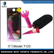 Factory wholesale magnetic golf tee with anchor, Caiton 1.89Inch(48mm) step down golf tees T123/T124