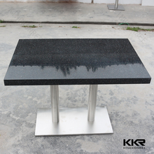 kingkonree solid surface custom marble top console table