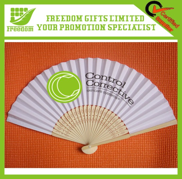Professional Custom Logo Cheap Paper Hand Fan