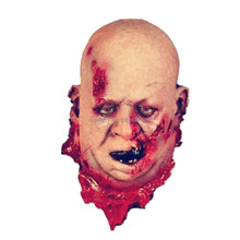 X-Merry Toy Horror Bloody Ghost Head Mask Scary Halloween Props Decoration x18214