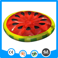 100% air test giant ride on inflatable watermelon float
