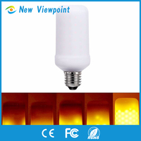 Flame Bulb E27 LED Flame Effect Fire Light Bulbs for Decoration Lighting on Christmas Halloween Holiday Party