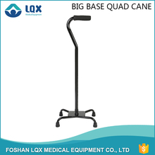 Home use/ hospital/ outdoor four-legged crutch With four feet alllow for greater weight bearing and stability