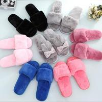 LM5226Q women casual slipper warm winter indoor slippers household slippers