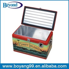 locking metal cooler box