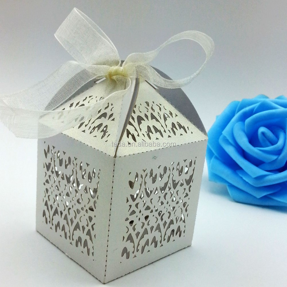 Teda craft ZH-001 filigree wedding favor box