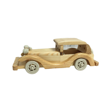 FQ brand high emulational home decoration model toy wooden car