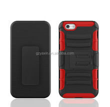 Kickstand phone case for iPhone 5C handphone / smart holster skin for iPhone 5C belt clip case / for iPhone 5C heavy duty case