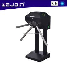 Fingerprint RFID Semi-Automatic Access Control System Vertical Tripod Turnstile Gate Professional Turnstile Manufacturer