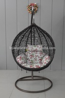 Alibaba egg hanging swing rattan chair