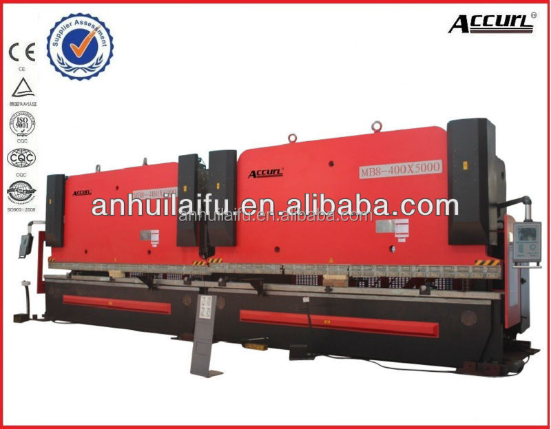 2* MB8- 600T Metal Plate Hydraulic Bending Machine, Press brake in tandem