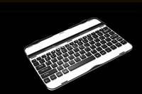"Luxury Ultra Slim Wireless Bluetooth Aluminum Metal Keyboard Case Cover W/Stand for Samsung Galaxy Tab3 10.1""inch P5200/P5210"