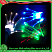 GPS Flashing LED Gloves