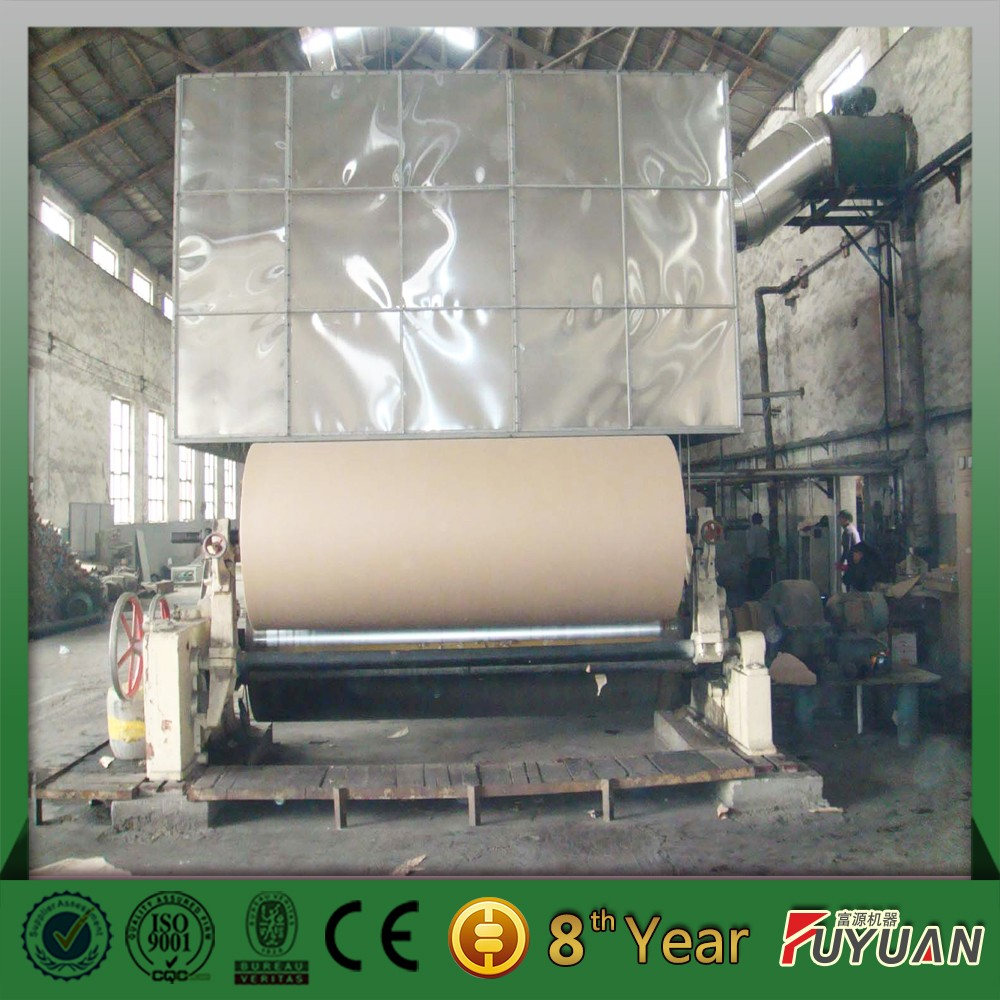 corrugated paper mill paper machine for sale