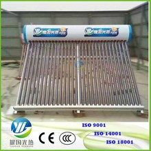 China Cheap non-Pressurized 300L home heating system 30 Solar tubes water heater