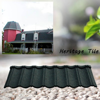 recycled rubber metal roofing Tiles prices color roof philippines