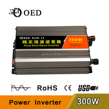 300w Pure Sin Wave Power Inverter,DC to AC sin wave inverter