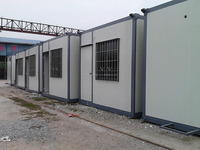 20 foot cheap flat pack refugee shelter container house
