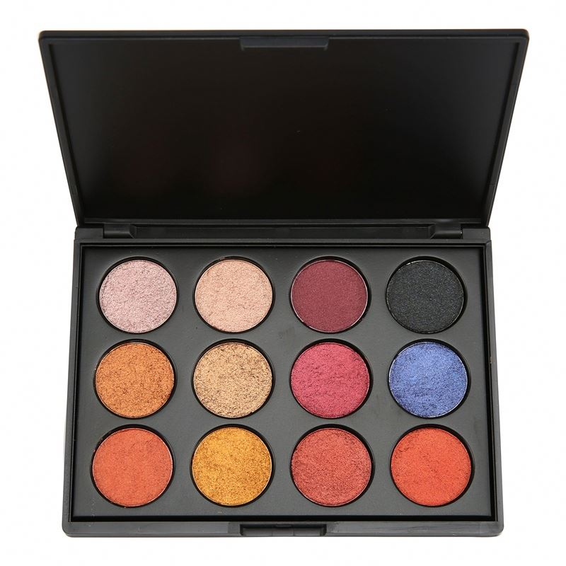 Private Label Make Up <strong>Cosmetics</strong> no brand wholesale makeup Pressed Matte and Pearl light Eyeshadow