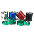 JL-343JA Herb Grinder Hand Crank Easy Access Window Herb Grinder Design