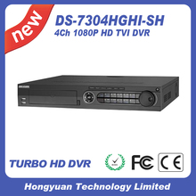 DS-7304HGHI-SH promotion Hikvision HD TVI DVR H.264 4ch 2MP scan analog full hd 1080p 1u cctv hd dvr