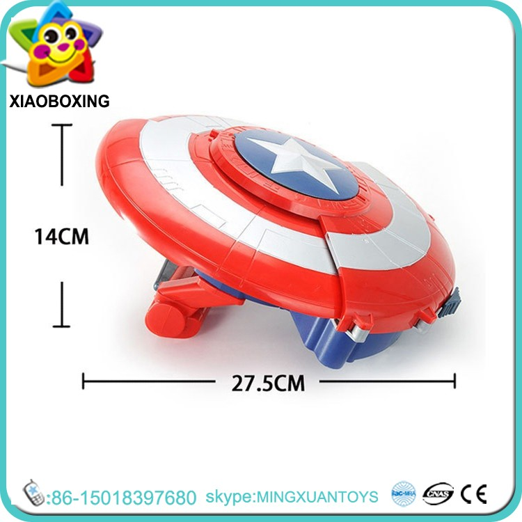 America Captain gifts plastic toy shields gel water Gel Ball Gun toys for kids