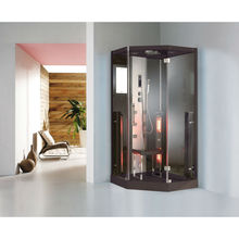 One person mini steam shower bath room and infrared sauna K073