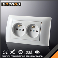 Factory price New design double french lamp socket