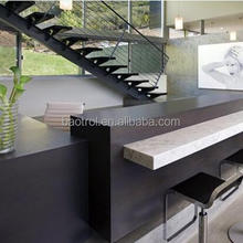 Modern custom design artificial stone bar counter for family