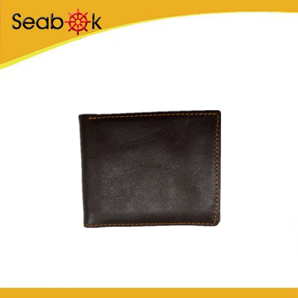 Retro style wallet leather band men wallet money slip wallet