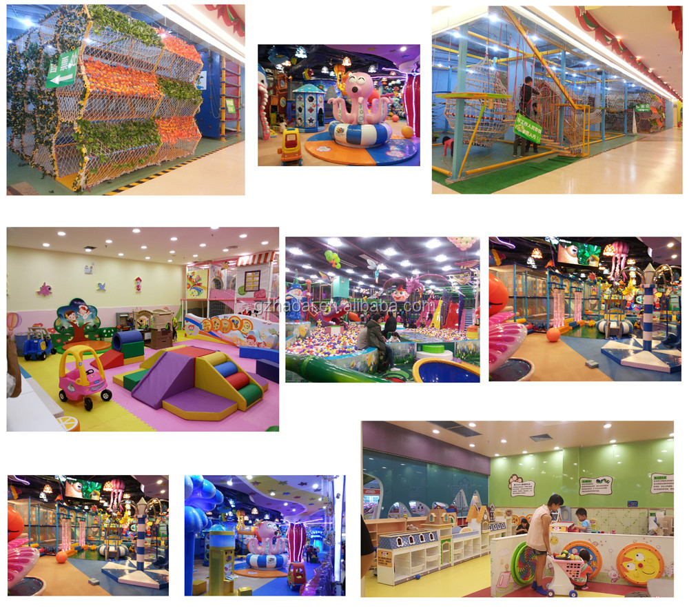 A-12316 Multifunctional Integrated Children's Paradise Indoor Playground A fantasy World For Kids
