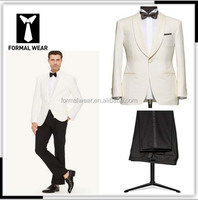 factory direct sell,Shawn lapel Fashion white tuxedo wedding suits for men