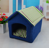 2016 New Design China Supplier Wholesale Pet Products foldable small dog bed and cat house