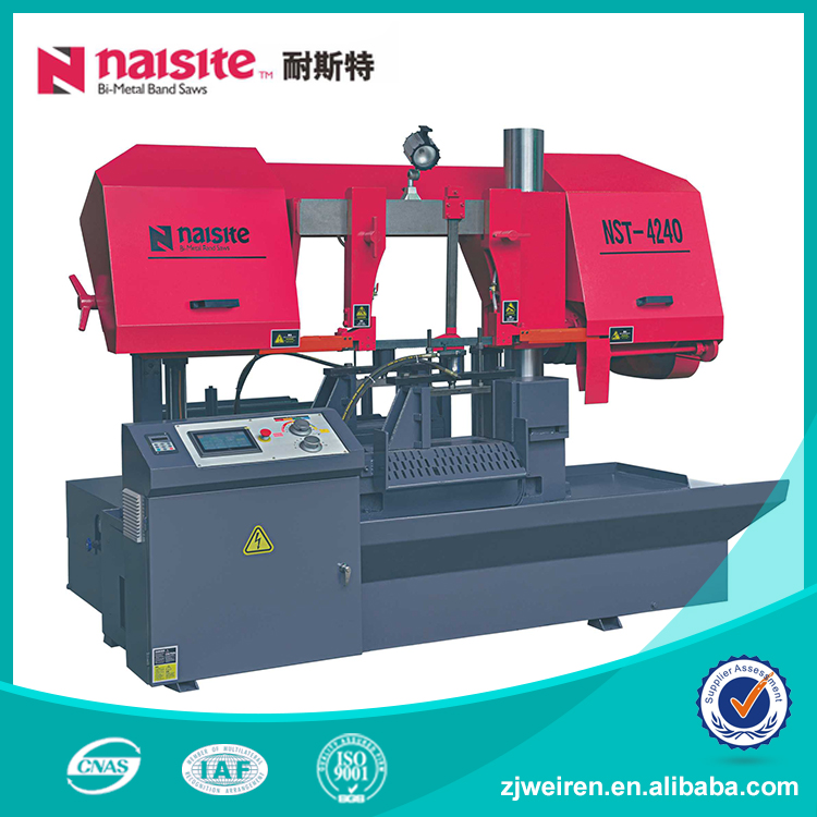 90 Degrees Scroll CNC Band Saw Machine Horizontal For Timber Cutting