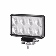 LED Truck Light 24w LED Work Light Green Truck LED Lights for Vehicle