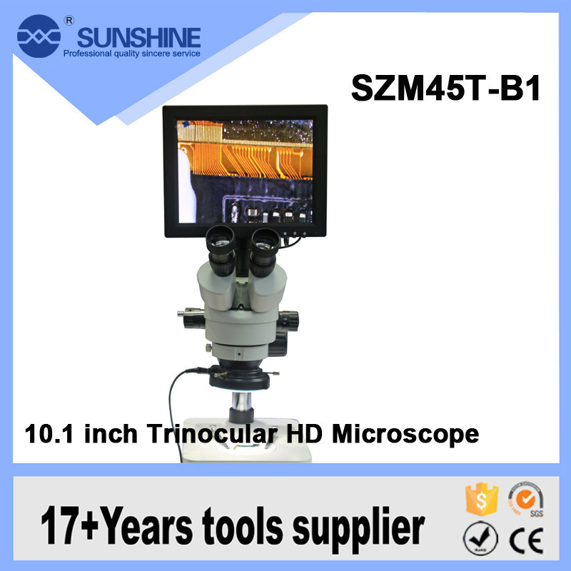 New arrival 10.1 inch HD scanning electron VGA microscope with best price