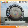 Big inflatable car wheel model inflatable tire advertising