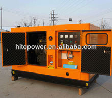 24V Electric Start Easy Operation low price soundproof diesel generator