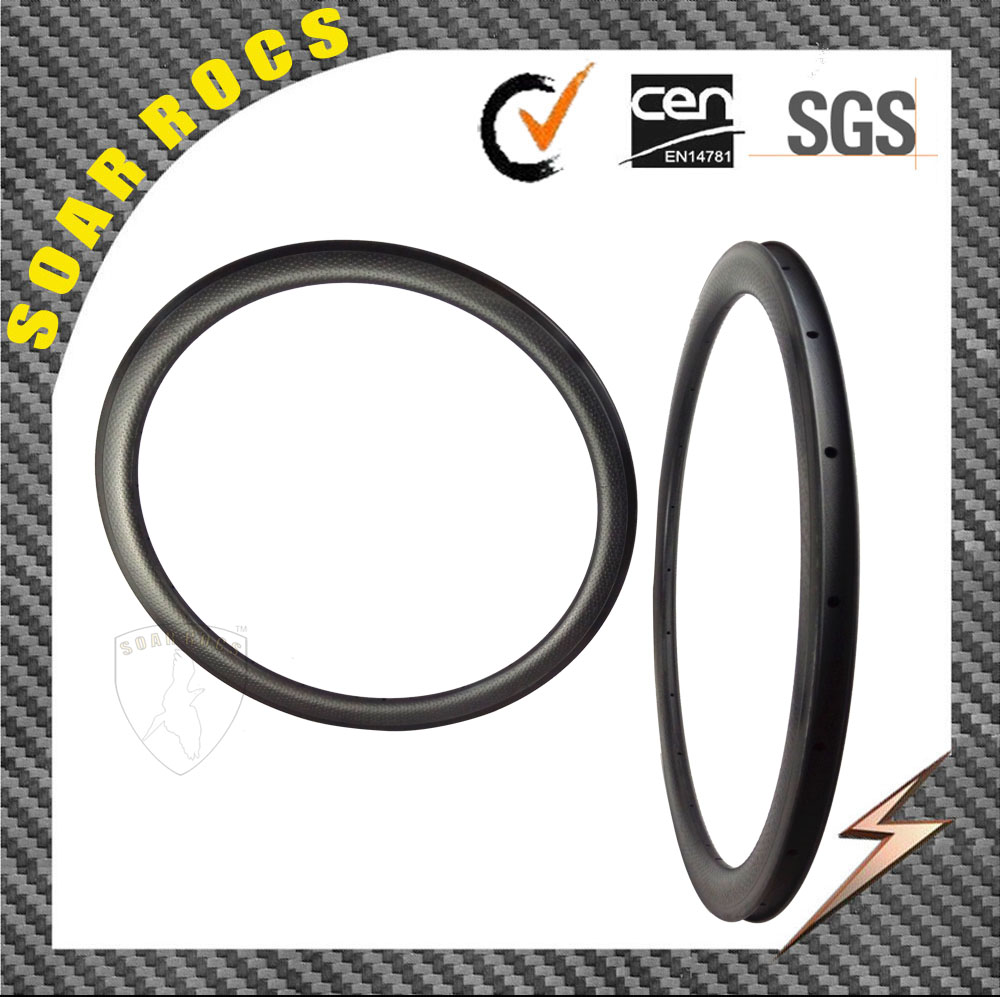 carbon fiber bikes 45mm clincher SoarRocs road bike rims dimple surface carbon bicycle parts