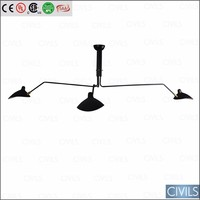 Serge Mouille Chandelier Ceiling Lights