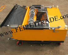 Render ready mix Cement Auto rendering machine in China