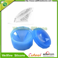 DIY Single diamond shape plainum Silicone Ice mold/ Silicone Ice tray