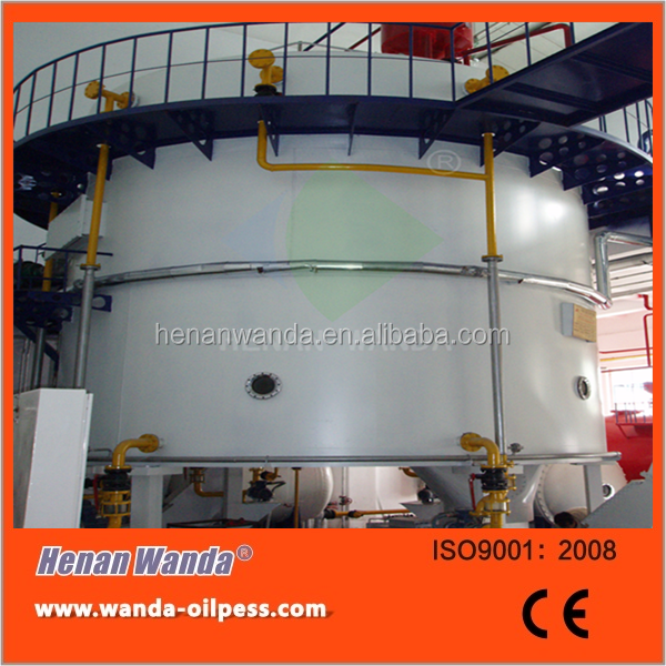 professional soybean oil cake solvent extraction plant