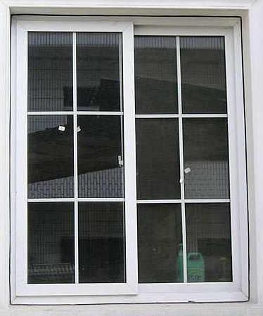 YT 60mm series double track five stars upvc sliding window