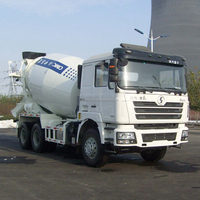 Shacman 6*4 chassis, CIMC LINYU concrete truck mixer