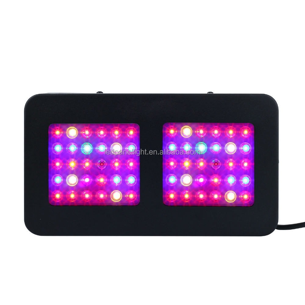 2017 new design hot-selling 300W 5w led Panel Grow Light System Full Spectrum For Plant Replace HPS 450w grow light