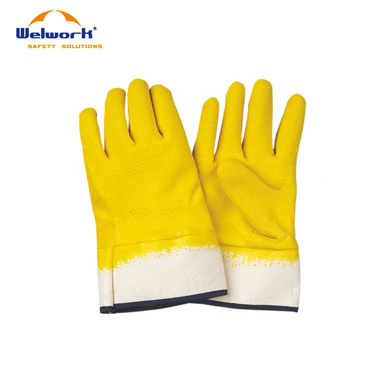 Competitive Price ODM Avaliable long yellow cheap price rubber gloves